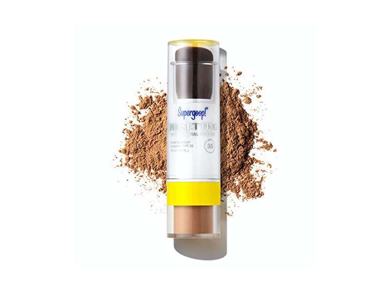 Supergoop! (Re)Setting 100% Mineral Powder, SPF 35, Deep, 0.15 oz/4.25 g