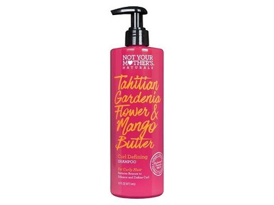 Not Your Mother's Naturals Tahitian Gardenia Flower & Mango Butter Curl Defining Shampoo, 16 oz