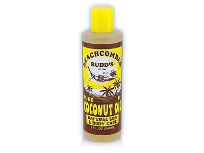 Hawaiian Beachcomber Budd's Coconut Oil Suncare Skin Body Care, 8 oz