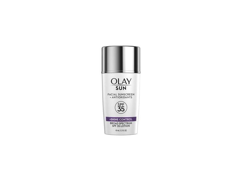 Olay Sun Face Sunscreen Serum + Shine Control SPF 35
