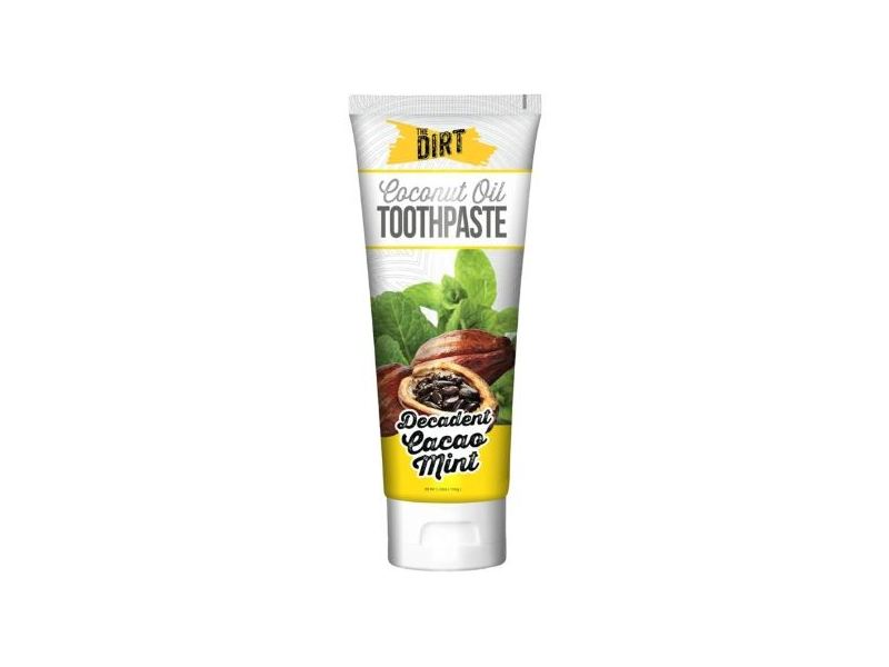The Dirt Coconut Oil Toothpaste, Decadent Cacao Mint, 35g