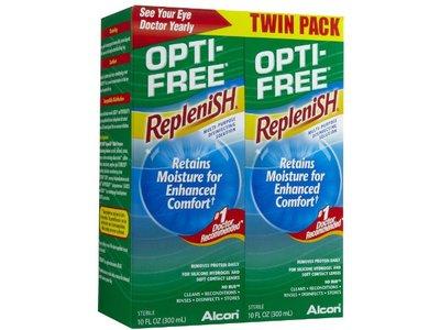 Alcon Opti-Free Replenish Multi-purpose Disinfecting Solution, 10 oz