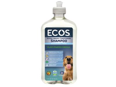 Ecos Fragrance-Free Hypoallergenic Conditioning Pet Shampoo, 17 fl oz/502 ml