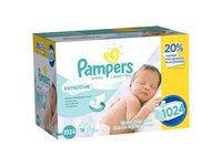 Pampers Baby Wipes Sensitive 16X Refill, 1024 Count - Image 2