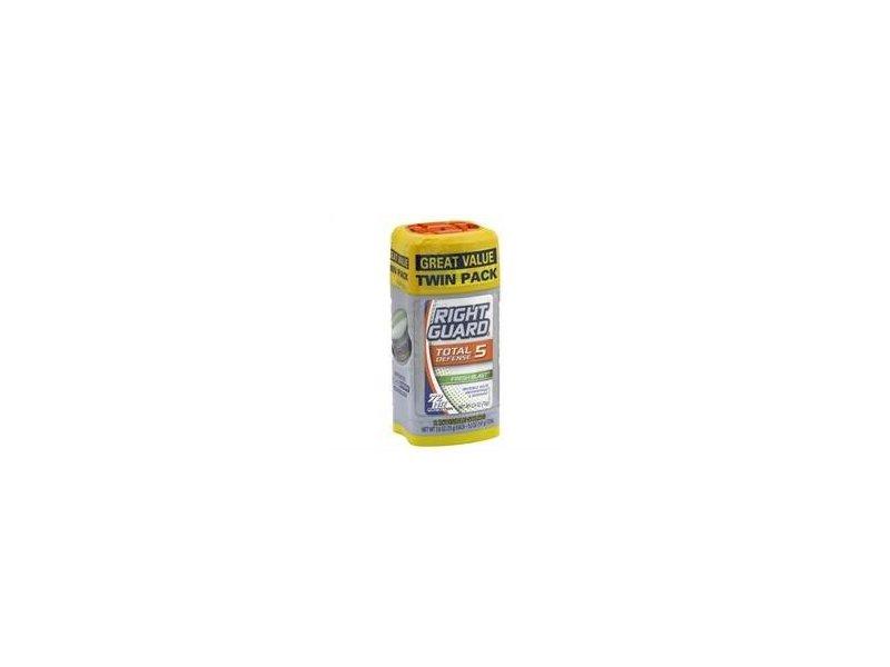 Right Guard Total Defense 5 - Anti-perspirant & Deodorant Gel, Fresh Blast Scent, 4 oz