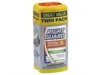 Right Guard Total Defense 5 - Anti-perspirant & Deodorant Gel, Fresh Blast Scent, 4 oz - Image 2