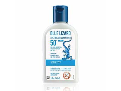 Blue Lizard Sensitive Mineral Sunscreen, SPF 50+, 5 oz