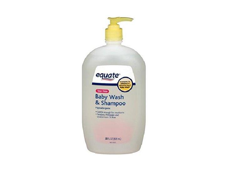 Equate Tear Free Baby Wash & Shampoo, 28 fl oz