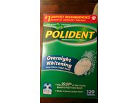 Polident Overnight Whitening Tablets, 120 ct - Image 3