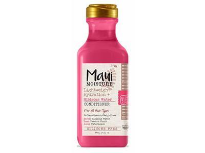 Maui Moisture Conditioner, Lightweight Hydration Plus Hibiscus Water, 13 fl oz / 385 ml