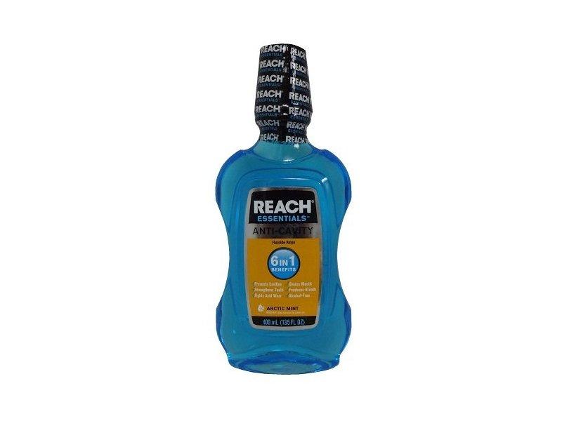 Reach Essentials Anti-Cavity Mouthwash, Arctic Mint, 13.5 fl oz