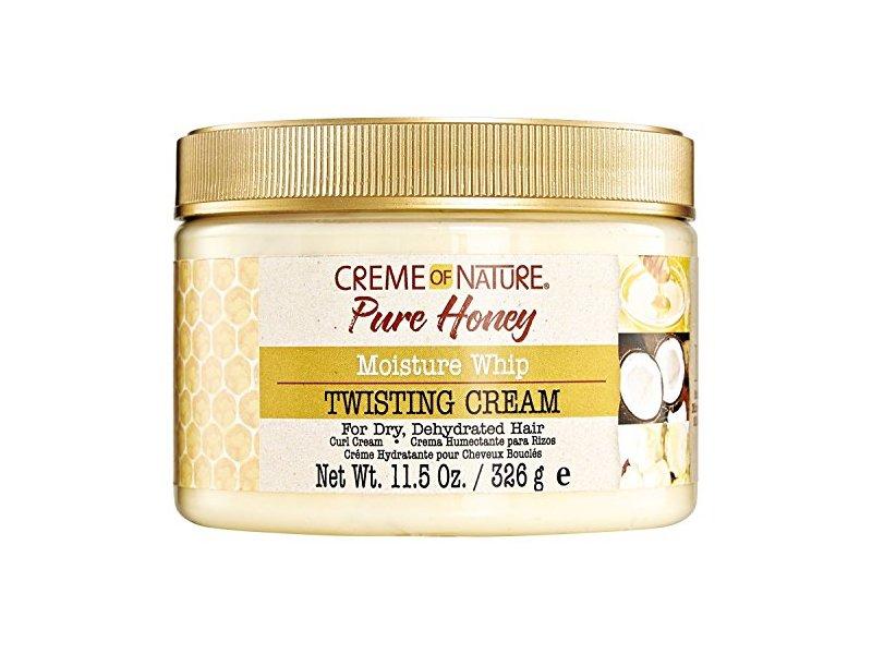 Creme Of Nature Pure Honey Moisture Whip Twisting Cream, 11.5 oz / 326 mL