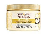 Creme Of Nature Pure Honey Moisture Whip Twisting Cream, 11.5 oz / 326 mL - Image 2