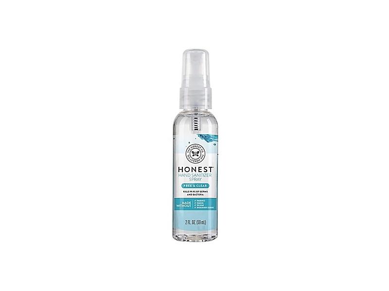 The Honest Company Honest Hand Sanitizer Spray, Free & Clear, 2 fl oz