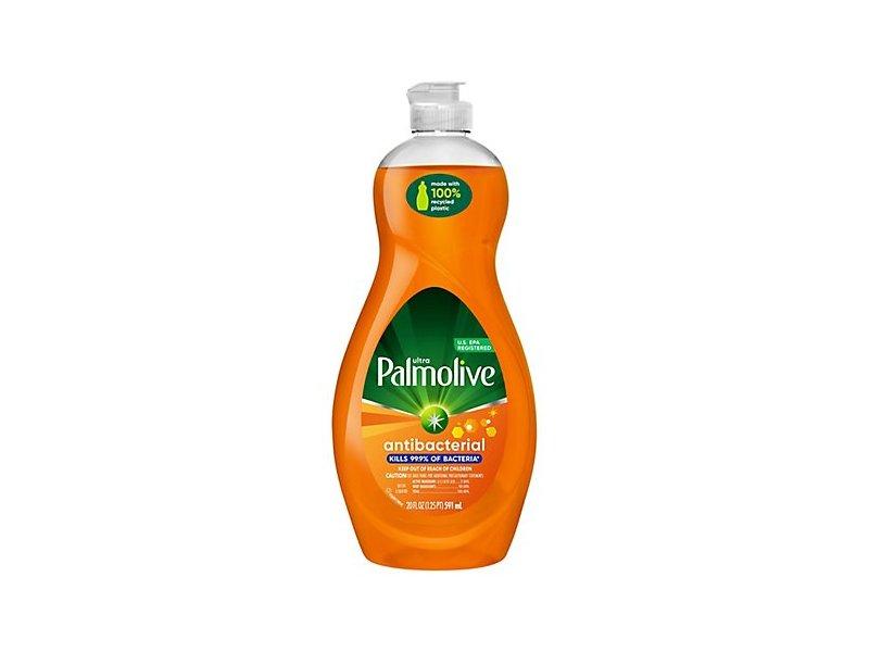 Palmolive Ultra Antibacterial Orange Dish Liquid, 25 fl oz/739 mL