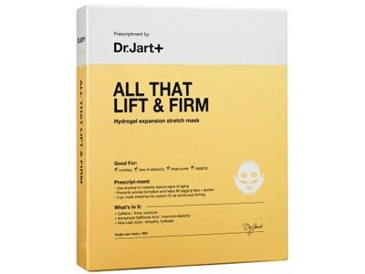 Dr.Jart+ All That Lift & Firm Hydrogel Expansion Stretch Mask, 5xsingle use