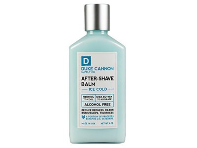 Duke Cannon After-Shave Balm, Ice Cold, 6 oz