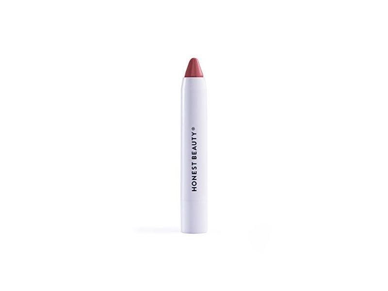 Honest Beauty Lip Crayon-Demi-Matte, Fig, 0.105 oz.