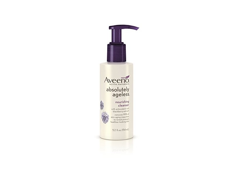 Aveeno Absolutely Ageless, Nourishing Cleanser, 5.2 Fluid Ounce