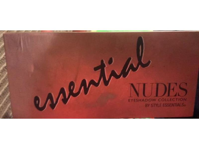 Style Essentials, Essential Nude Eyeshadow Collection, 8.64 oz /245 g