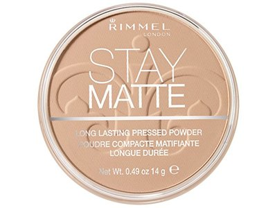 Rimmel Stay Matte Long Lasting Pressed Powder, Natural, 0.49 oz