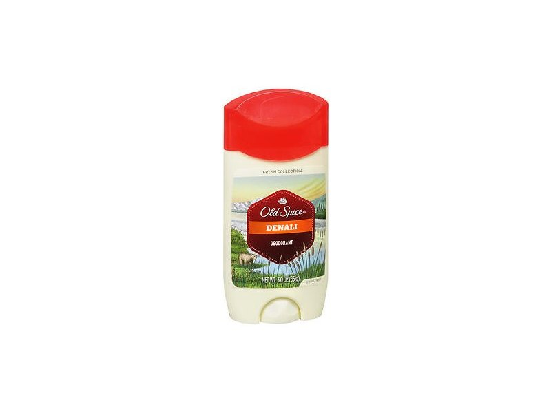 Old Spice Fresh Collection Deodorant, Denali 3 oz (Pack of 5)