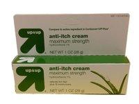 Up & Up Anti-Itch Cream, Maximum Strength, Hydrocortisone 1% Plus 10 Moisturizers, 1oz - Image 2