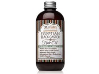 Shea Terra Organics Egyptian Black Castor Hair Oil, Rosemary-Carrot Seed, 8 oz - Image 2