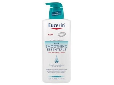 Eucerin Plus Smoothing Essentials Fast Absorbing Lotion 33.3 fl oz - Image 1