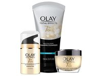 Olay Total Effects Day to Night Anti-Aging Skincare Kit with Cleanser, SPF & Night Cream - Image 2