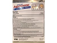 Aspercreme Lidocaine Patch, Odorfree, 5 ct - Image 3