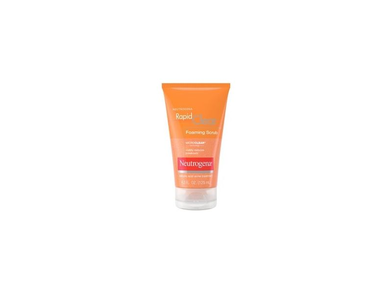 Neutrogena Rapid Clear Foaming Salicylic Acid Facial Scrub