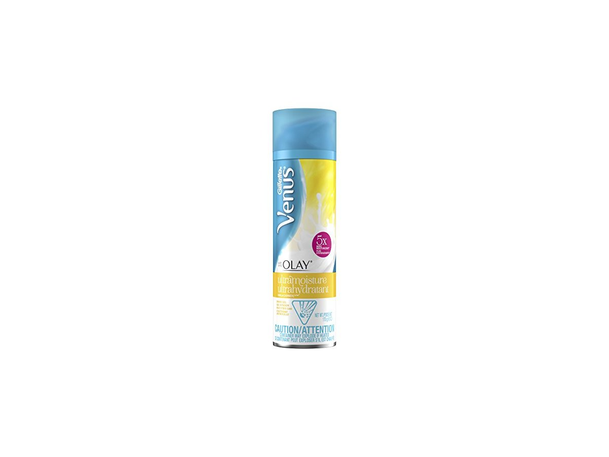 Gillette Venus with Olay Ultra Moisture Shave Gel, Vanilla Cashmere Ingredients and Reviews
