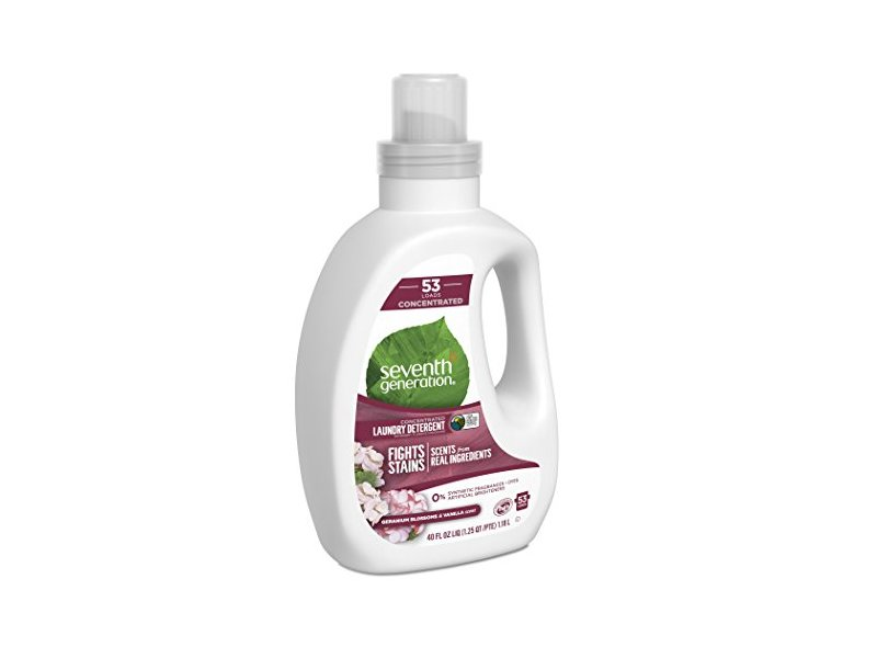 Seventh Generation Laundry Detergent, Blossoms & Vanilla, 40 fl oz
