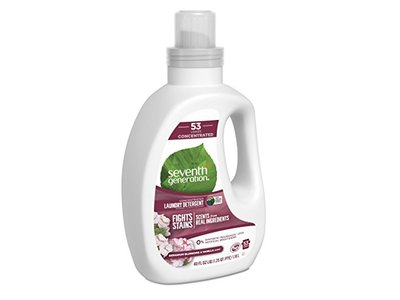 Seventh Generation Laundry Detergent, Blossoms & Vanilla, 40 fl oz - Image 1