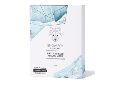 Snow Fox Arctic Breeze Rescue Mask, 5-pack