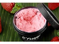 Lush DFluff Strawberry Shaving Soap Cream, 2.4 ounces - Image 3