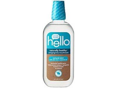Hello Naturally Healthy Antigingivitis Mouthwash