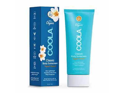 COOLA Organic Sunscreen Lotion, SPF 30, Tropical Coconut, 5 fl oz/148 mL