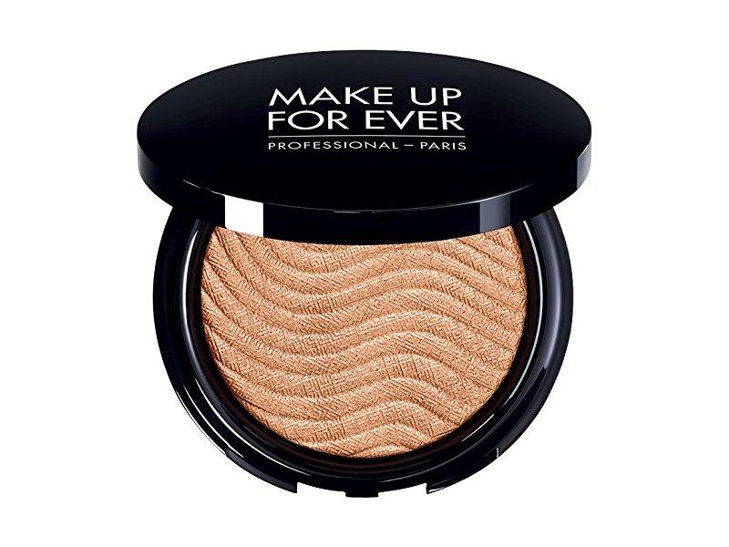 MAKE UP FOR EVER Pro Light Fusion Highlighter, 1 Golden Pink - for light to medium skin tones, 0.3 oz
