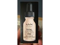 Nyx Professional Makeup Total Control Pro Drop Foundation, Light Porcelain, 0.43 fl oz/13 ml - Image 3