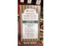 SheaTerra Organics Moroccan Mud-Poo, Rosemary Carrot Seed, 8 oz - Image 3