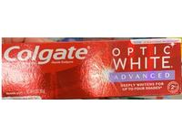Colgate Optic White Advanced Whitening Toothpaste, Sparkling White, 3.2 oz / 90 g, Pack Of 3 - Image 3