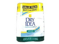 Dry Idea Advanced Roll On Antiperspirant and Deodorant, Unscented, Twin Pack, 3.25 Oz Ea - Image 2