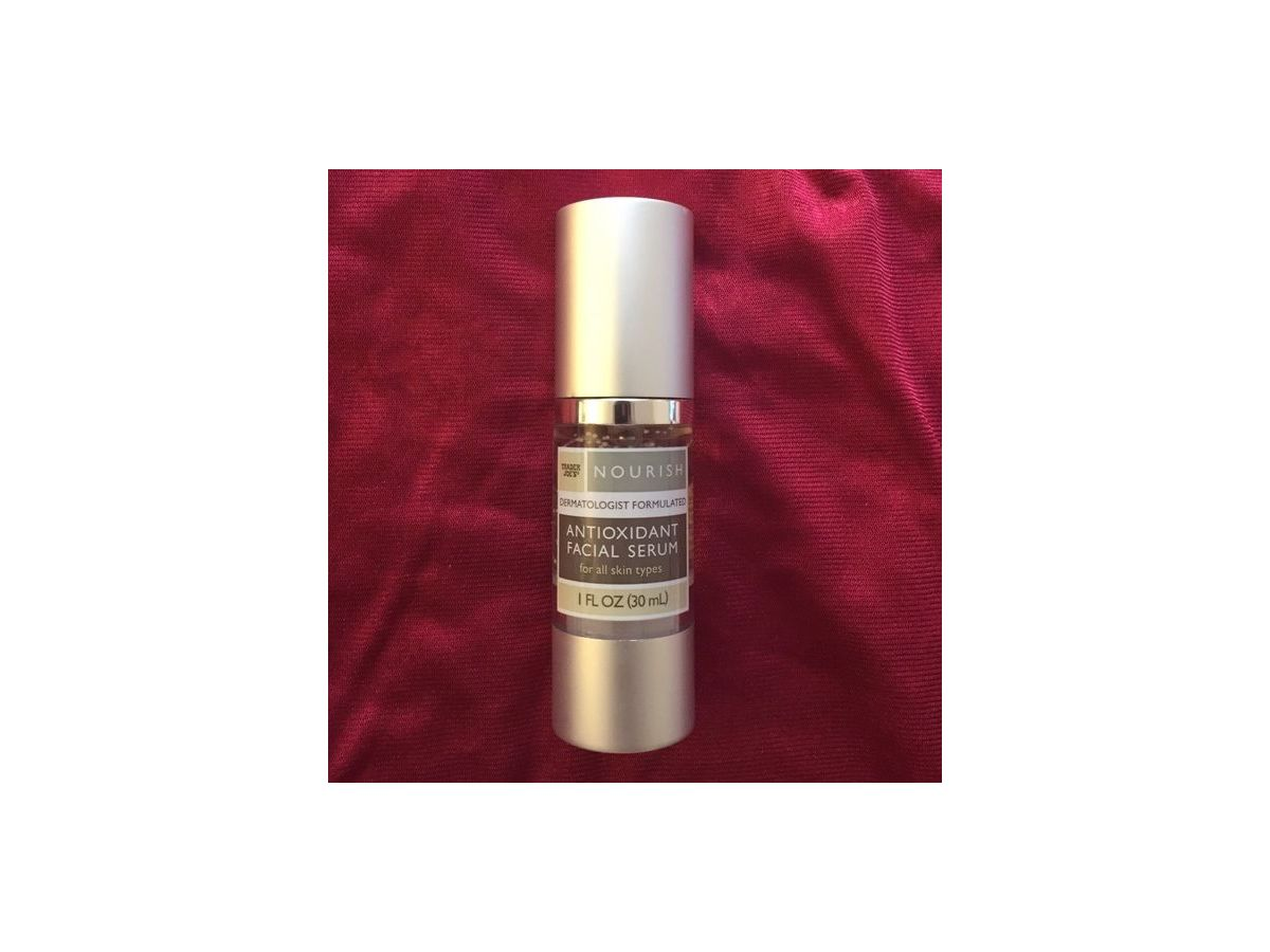 trader joe 39 s nourish antioxidant facial serum 1 fl oz ingredients and reviews. Black Bedroom Furniture Sets. Home Design Ideas