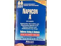 Alcon Naphcon-A Eye Drops, Twin Pack, 0.16 fl oz / 5 mL Each - Image 3