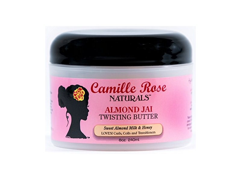 Camille Rose Naturals Almond Jai Twisting Butter, 8 oz