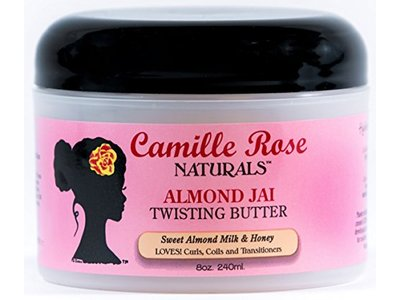Camille Rose Naturals Almond Jai Twisting Butter, 8 oz - Image 1