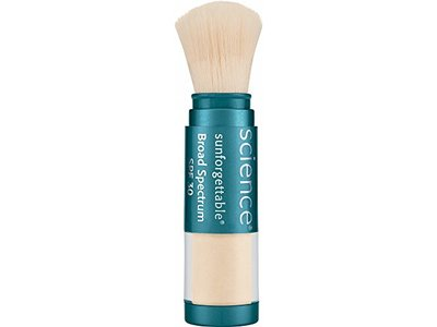 Colorescience Sunforgettable Mineral SPF 30 Sunscreen Brush, Fair, 0.21 oz.