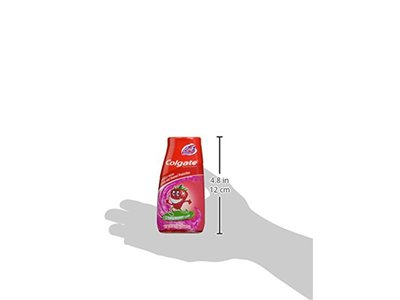 Colgate Kids 2-in-1 Toothpaste and Mouthwash, Strawberry Smash, 4.6 Fluid Ounce - Image 10